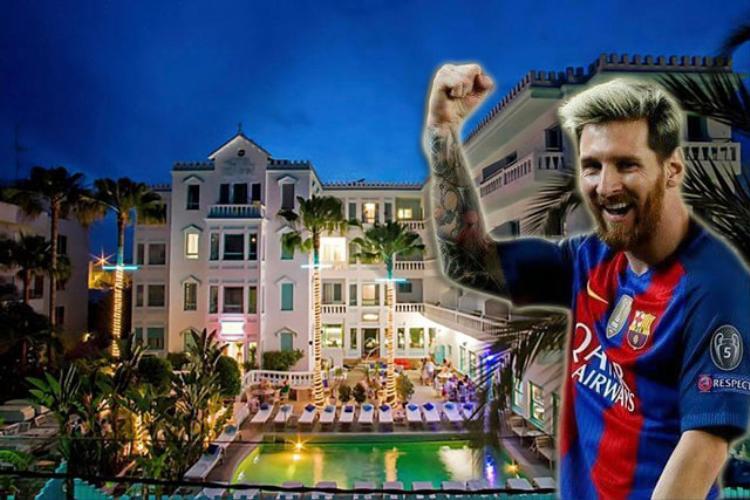 Messi vừa mua một khách sạn hạng sang ở Ibiza.