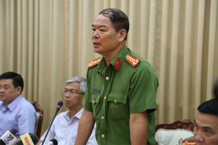 Đại tá Phạm Văn Băng - Phó giám đốc Cảnh sát PCCC TP. HCM