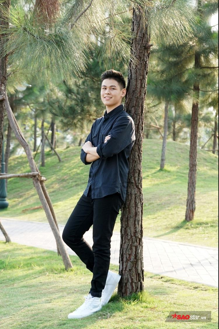 Hoàng Ngọc Hưởng (SN 1998, sinh viên năm 2, ngành Tài chính Ngân hàng).