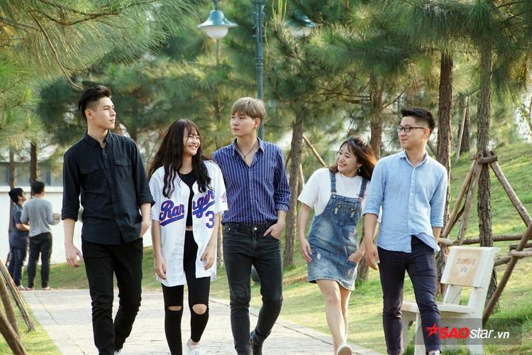 TOP 5 bạn trẻ khá nổi bật của FU Hòa Lạc.