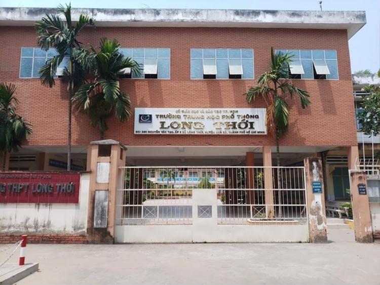 Trường THPT Long Thới.