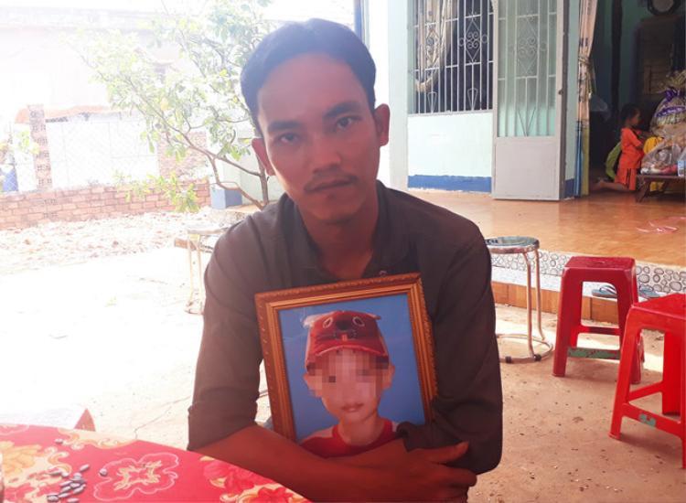 Anh Nguyễn Ngọc Thành vẫn chưa hết bàng hoàng sau cái chết của con trai.