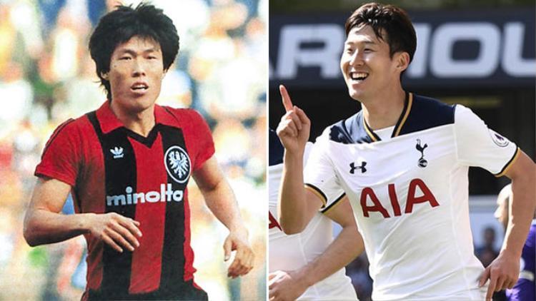 Cha Bum-Kun và Son Heung-Min