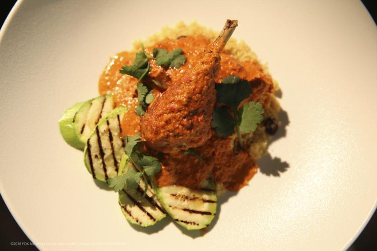Món ăn nổi tiếng tại Macau -African Chicken là món ăn mẫu trong tập 1.