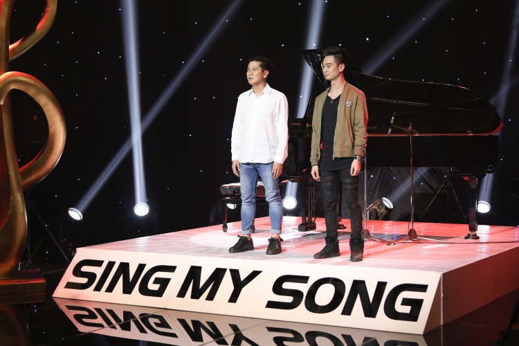 Team HLV Hồ Hoài Anh có sự đồng hành của cố vấn âm nhạc Slim V.