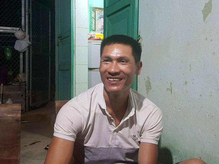 Anh Tiến - Người liều chết để cứu 2 nữ sinh. Ảnh: Vietnamnet.