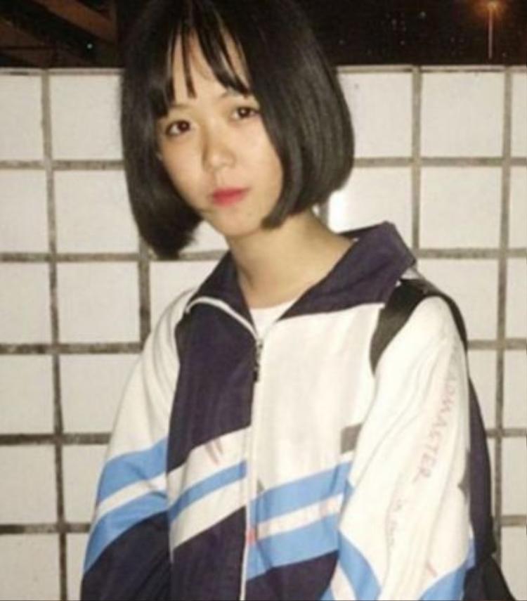 Cô bé Trần Vũ Dương, 14 tuổi.