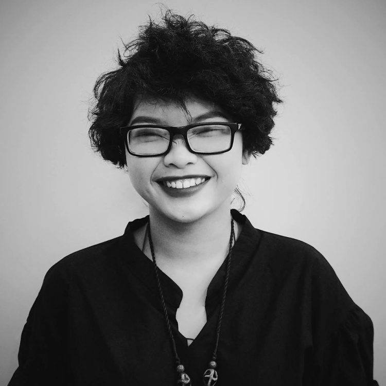 Cô gái cá tính Vũ Thị Châu.