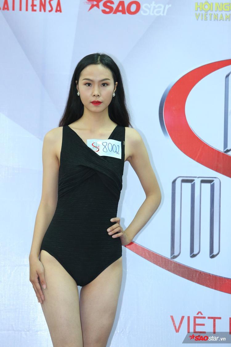 Trước khi đến với Siêu mẫu Việt Nam, Tạ Thị Vân (sinh năm 1997) từng là thí sinh của Hoa khôi Sinh viên Việt Nam 2017.