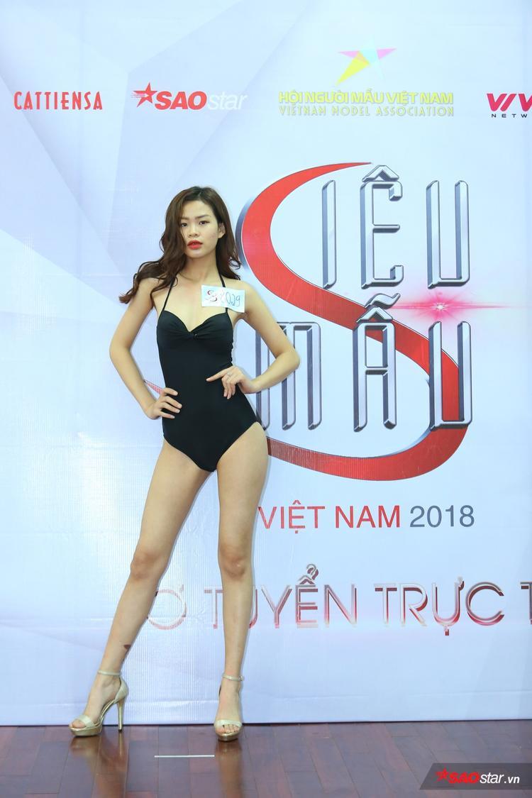 Dàn trai xinh gái đẹp sở hữu chiều cao khủng đổ bộ Siêu mẫu Việt Nam 2018