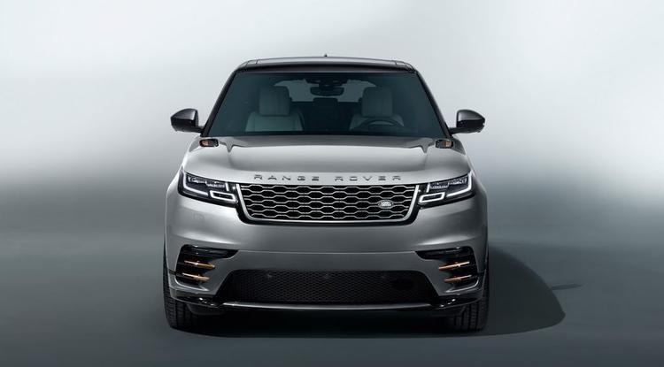 Range Rover Velar là mẫu xe SUV hạng sang với nhiều điểm nhấn thú vị về thiết kế với đầu xe là lưới tản nhiệt cỡ lớn cùng cụm đèn pha Matrix-Laser LED tinh tế.