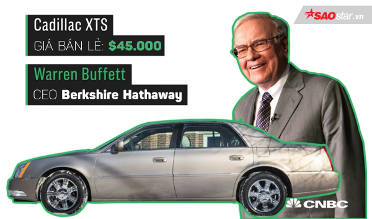 Gia tài kếch sù nhưng 5 tỷ phú này vẫn đang lái những chiếc xe rẻ không tưởng