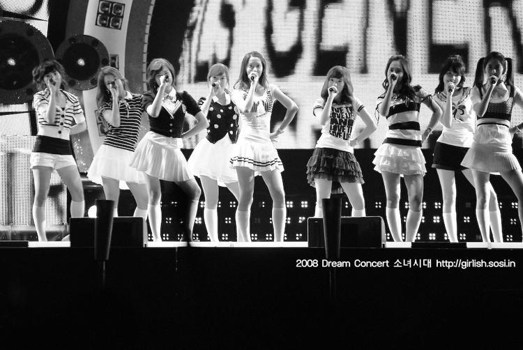 Năm 2008, SNSD xuất hiện tại Dream Concertvới tư cách là 1 nhóm nhạc tân binh.