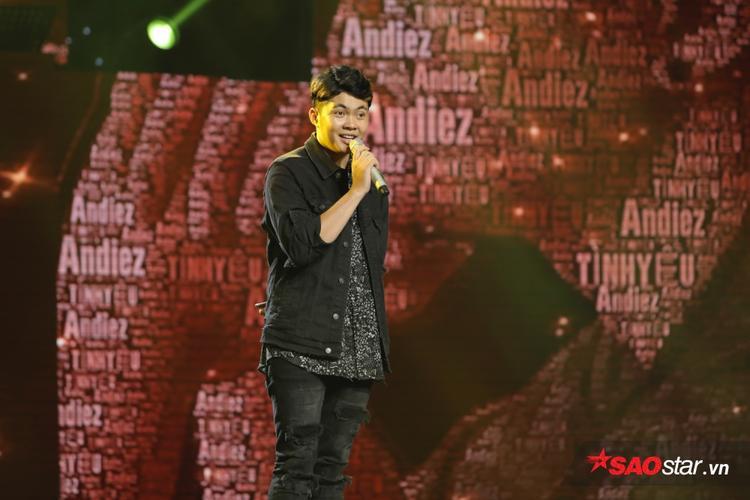 Ca khúc Tình yêu của anh quá đẹp cả về giai điệu và ca từ khiến Andiez giành điểm tuyệt đối 21/21 từ hội đồng bình chọn.