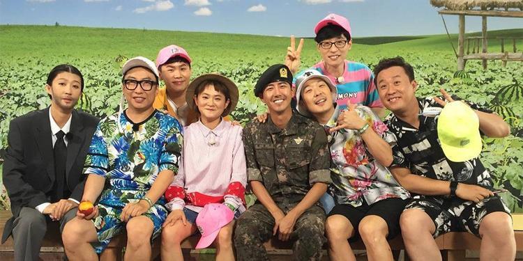 Các thành viên Infinity Challenge đã đến thăm Hwang Hee khi anh nhập ngũ.