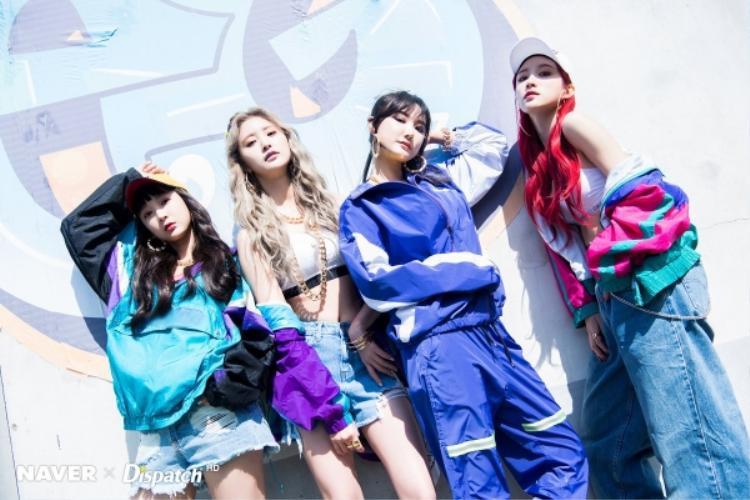 EXID comeback với hình tượng cực bụi, không Lady chút nào.