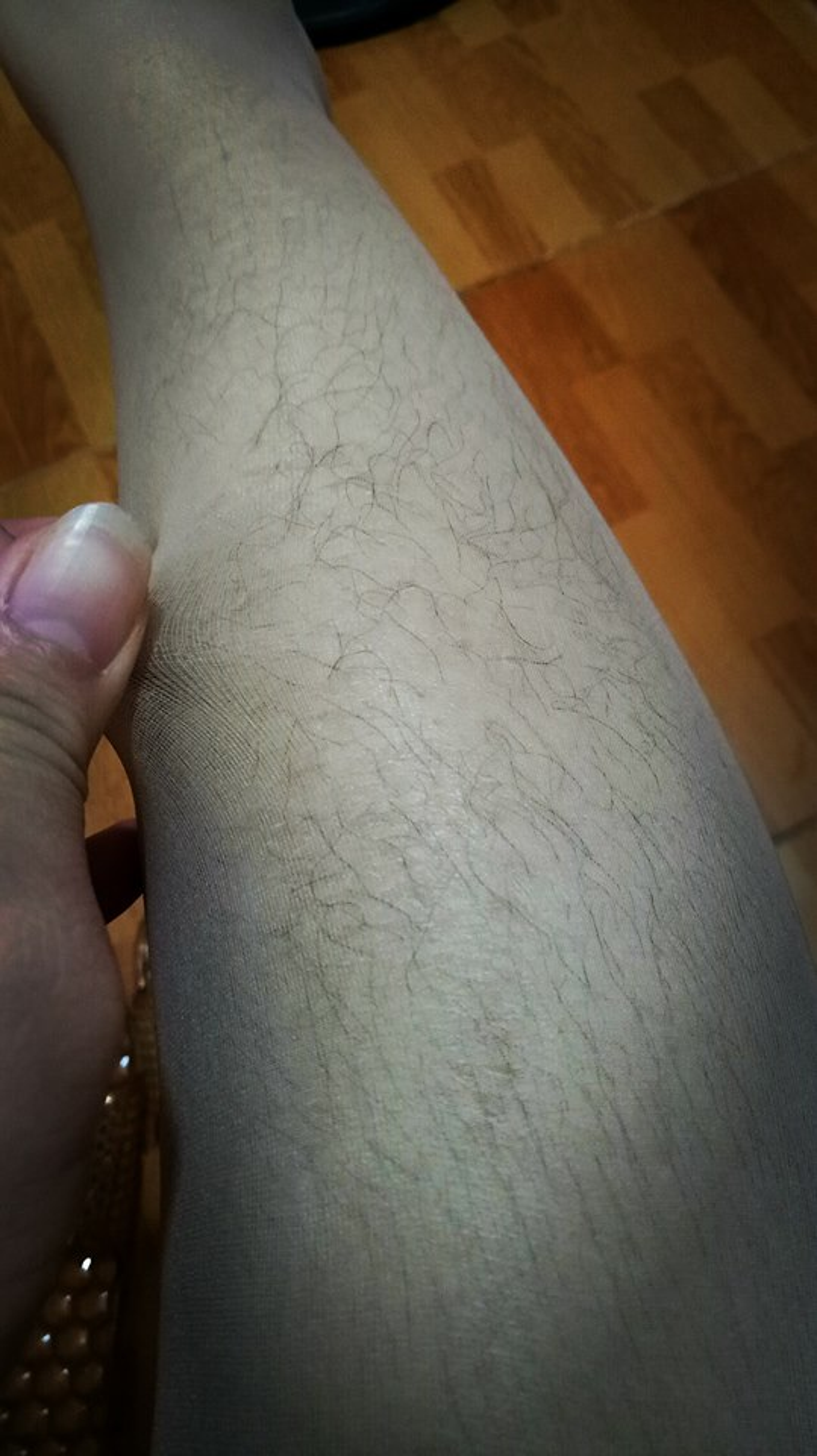 Khi tôi mặc quần tất - (Ảnh: Hoài Kem).