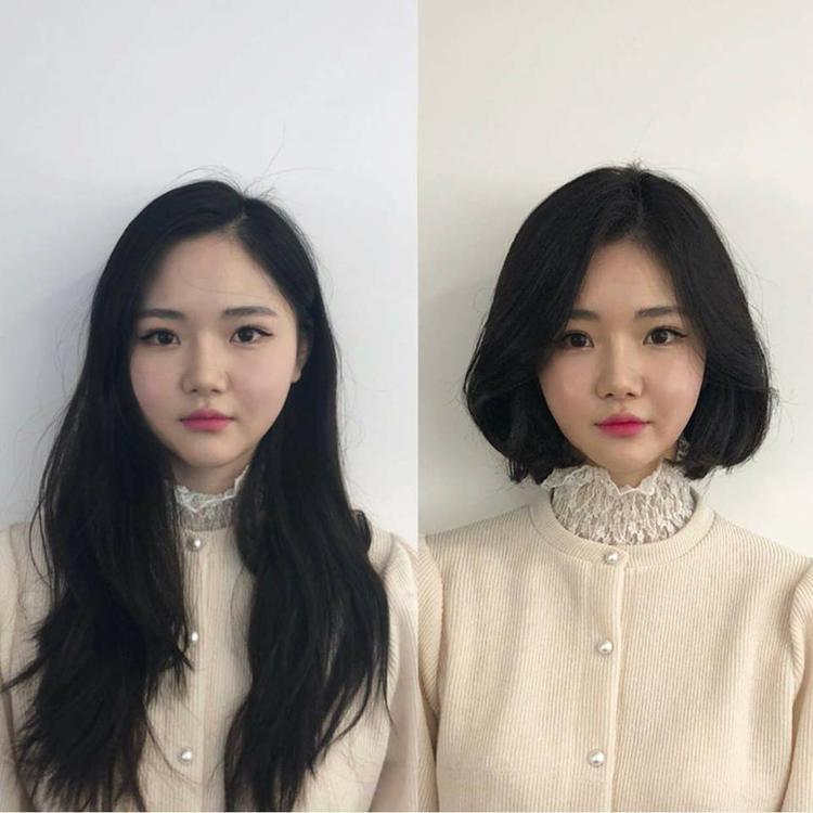 Những cô nàng có gương mặt bầu bĩnh thật sự rất hợp với tóc ngắn