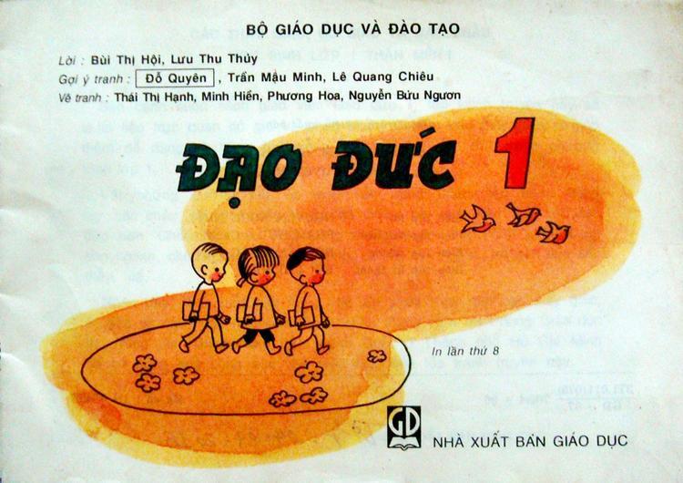 Nét vẽ giản dị ở trang mở đầu cuốn sách đã trở thành những hình ảnh đầu tiên trong đời học sinh của biết bao 8x, 9x.