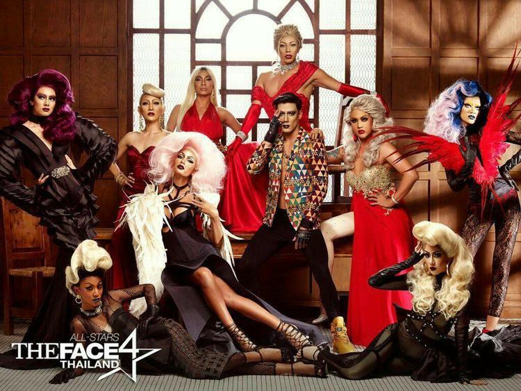Vừa qua, The Face Thailand All-Stars mùa 4 cũng đã mời những thí sinh của Drag Race Thailand làm khách mời cũng như hỗ trợ phần thi photoshoot theo nhóm của show.