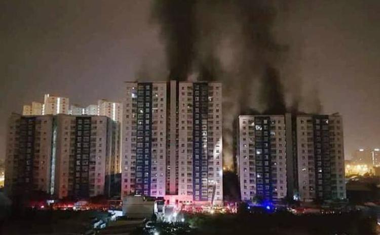 Vụ hỏa hoạn Carina khiến nhiều người lo ngại hơn về hệ thống PCCC của chung cư.