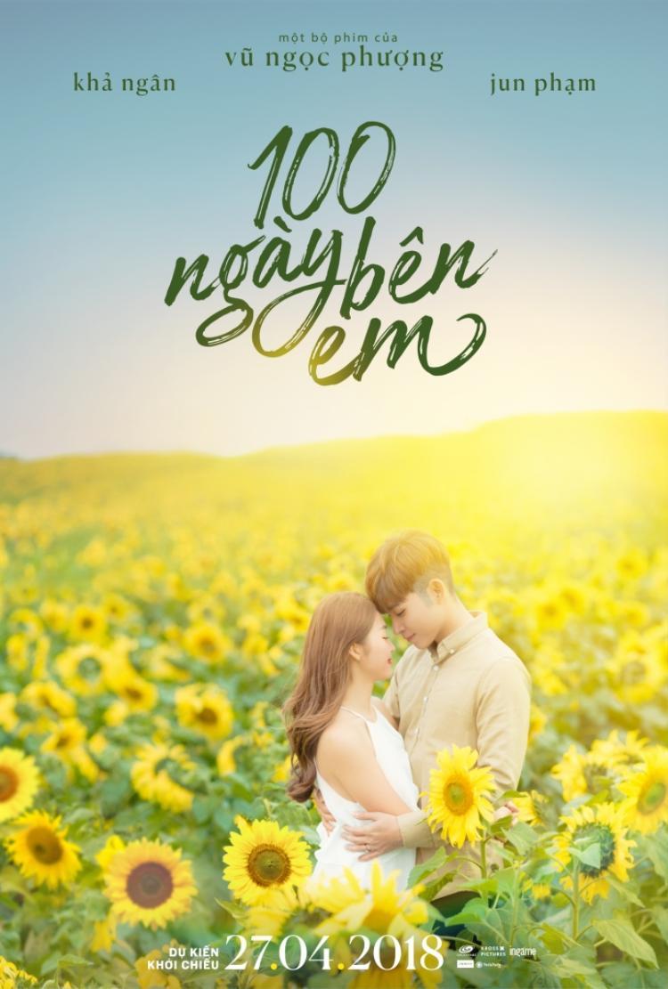 Poster chính thức 100 ngày yêu em.
