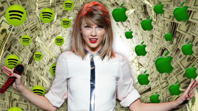 Không chỉ Spotify, Taylor Swift từng dằn mặt cả Apple Music.
