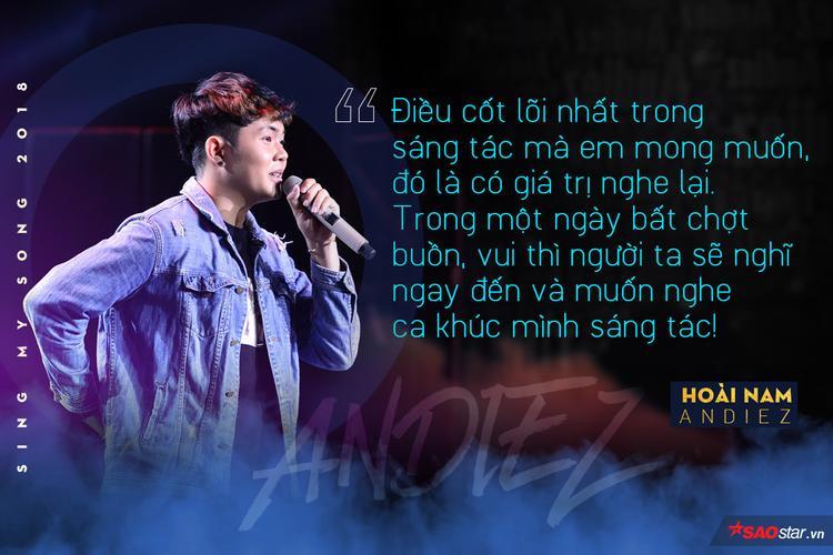 Andiez Hoài Nam: Tôi chỉ muốn là người tạo ra ánh hào quang cho người khác!