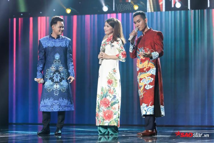 Bộ ba Đoàn Thanh Sơn - Khánh Linh - Đoàn Tuấn Anh.