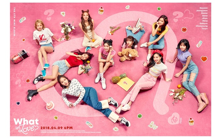 Ca khúc chủ đề What Is Love do chính ông chủ JYP - Park Jin Young chắp bút.