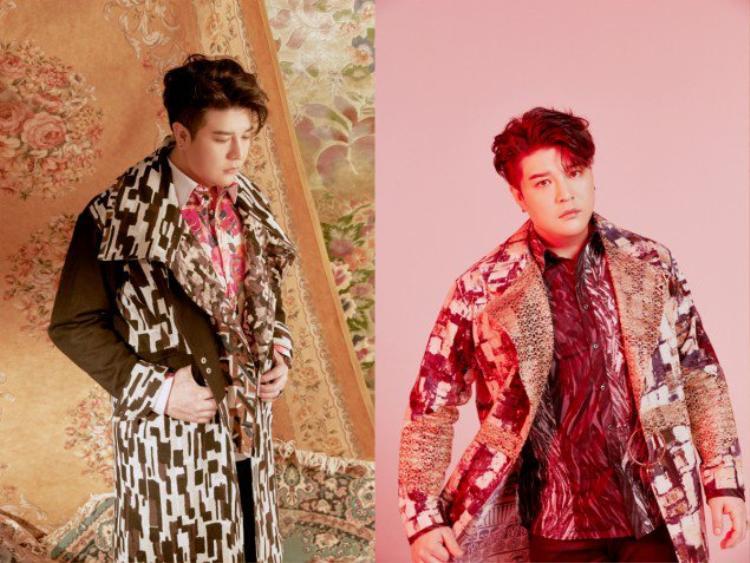 2 thành viên khác được tung teaser cùng thời điểm là Shindong…