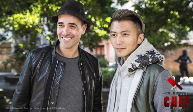Tạ Đình Phong và David Rocco