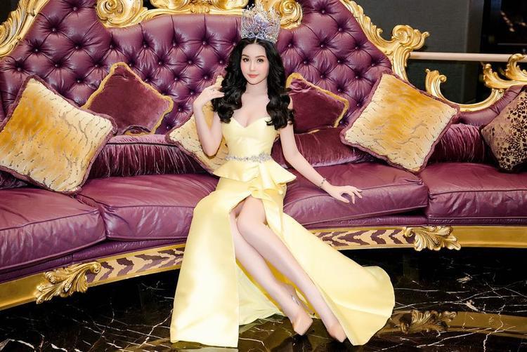 Hoa hậu Đại Dương khẳng định sẽ nỗ lực từng ngày, trưởng thành hơn để xứng đáng với danh hiệu cao quý mà mọi người đã tin tưởng trao cho mình.