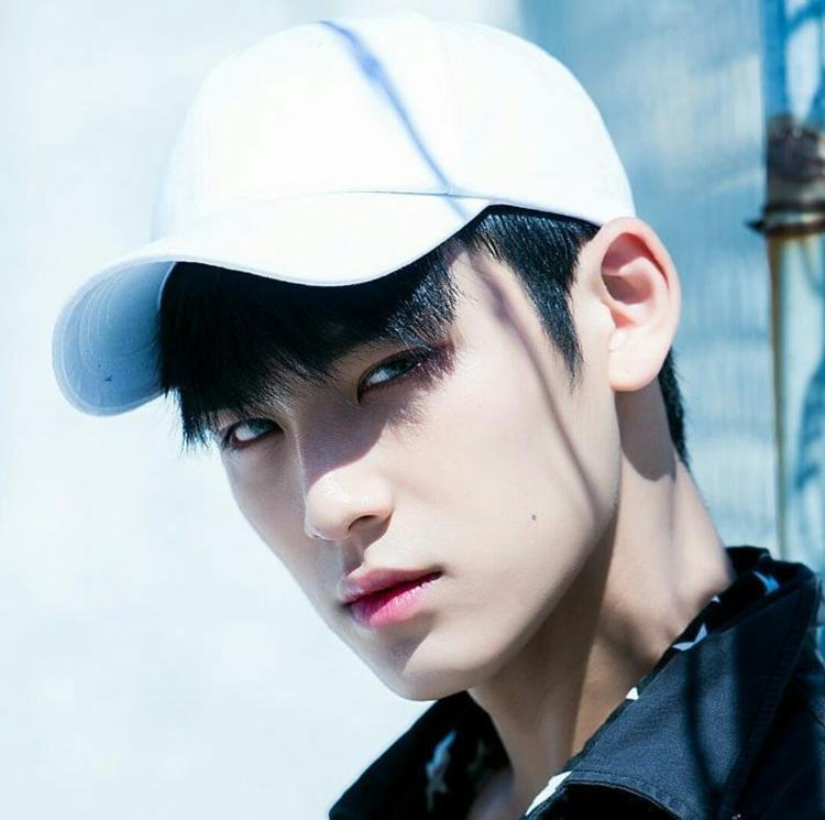 Hình mẫu của MinGyu là tiền bối T.O.P của BigBang.