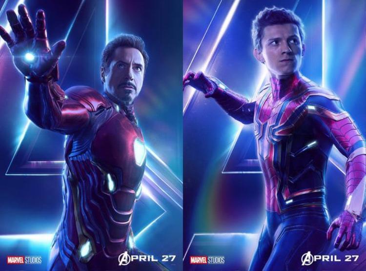Cánh tay của Spider Man và Iron Man có cùng cấu trúc.