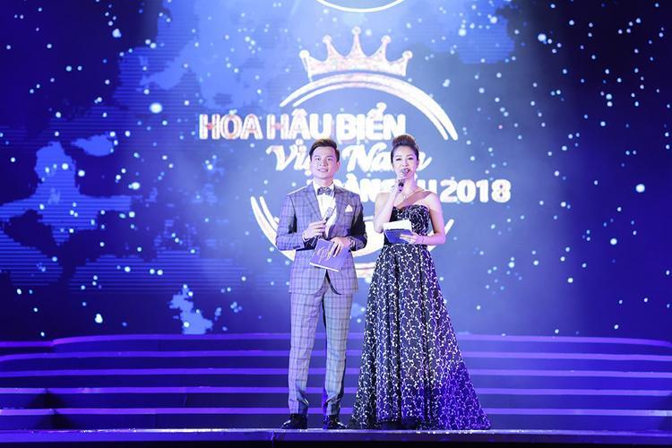 MC Danh Tùng và Jenifer Phạm.