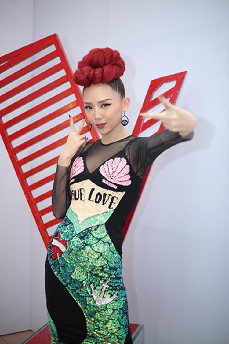 Tóc Tiên và dấu ấn đặc sắc cùng The Voice 2017.