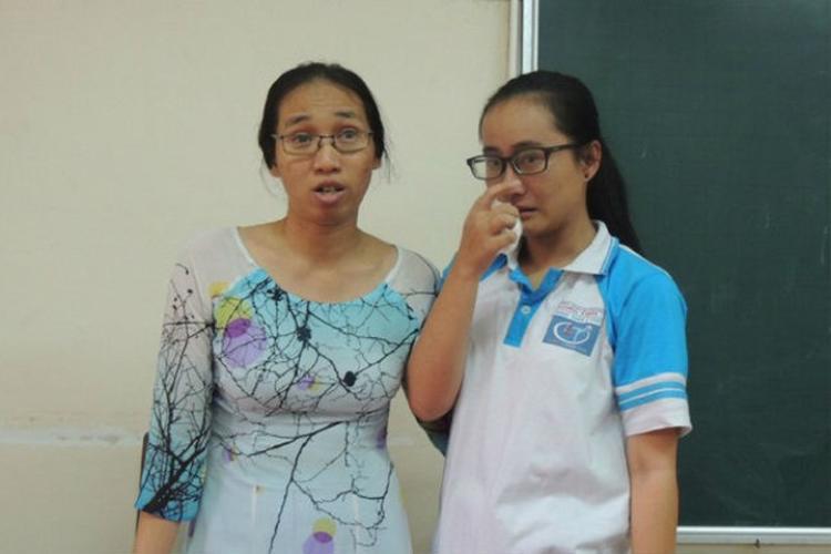 Cô giáo Minh Châu và em Song Toàn đã có buổi nói chuyện thẳng thắn sau sự việc.