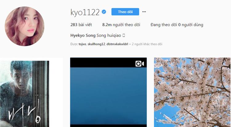 """""""Noona"""" xinh đẹp mua đồ ăn cho Yoo Ah In - Song Hye Kyo đã viết: """"Diễn viên Yoo"""", """"Cuối cùng 'Burning', Yoo Ah In""""."""