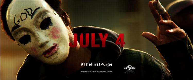 Rùng mình với trailer kinh dị đẫm máu, đầy chết chóc của The First Purge