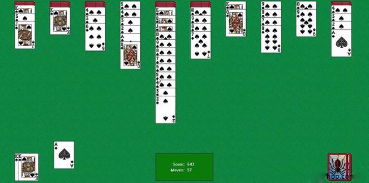 Trò chơi xếp bài nhện là một trò dễ chơi, được nhiều người dùng để giải trí mỗi khi thảnh thơi thư giãn. Nhiệm vụ của người chơi là xếp sao cho thứ tự từ cây K cho đến cây A từ trên xuống dưới theo logic.