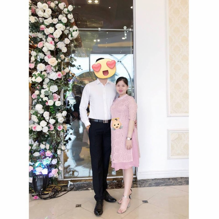 Cẩm Nhung hiện đang bầu 34 tuần