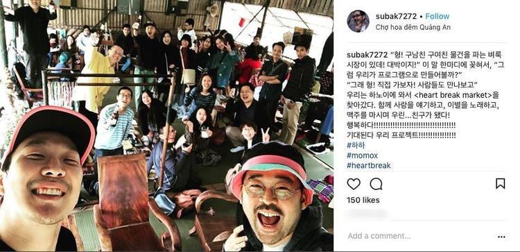 Trùm phản bội của Running Man HaHa bất ngờ ghé thăm chợ hoa Hà Nội