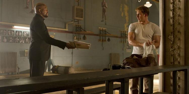 """Nick Fury ban phó nhiệm vụ giải cứu thế giới mới cho """"Đội trưởng Mỹ"""" Steve Rogers."""