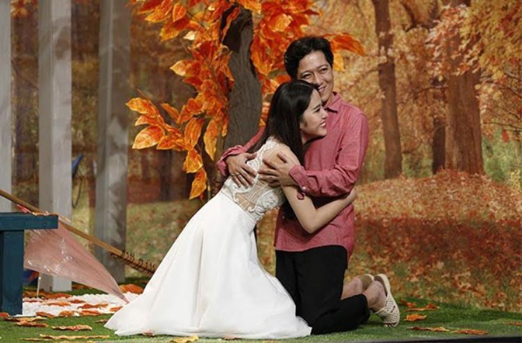Nam Em từng chia sẻ, những hình ảnh này chính là thời điểm mà cô và Trường Giang đang có tình cảm thật sự.