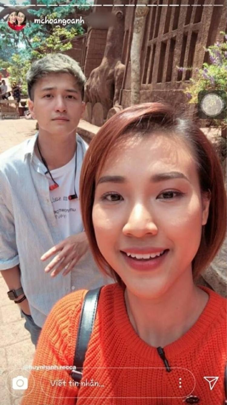 Hoàng Oanh lên tiếng bênh vực Huỳnh Anh khi bạn trai cũ bị gắn mác là kẻ phụ tình