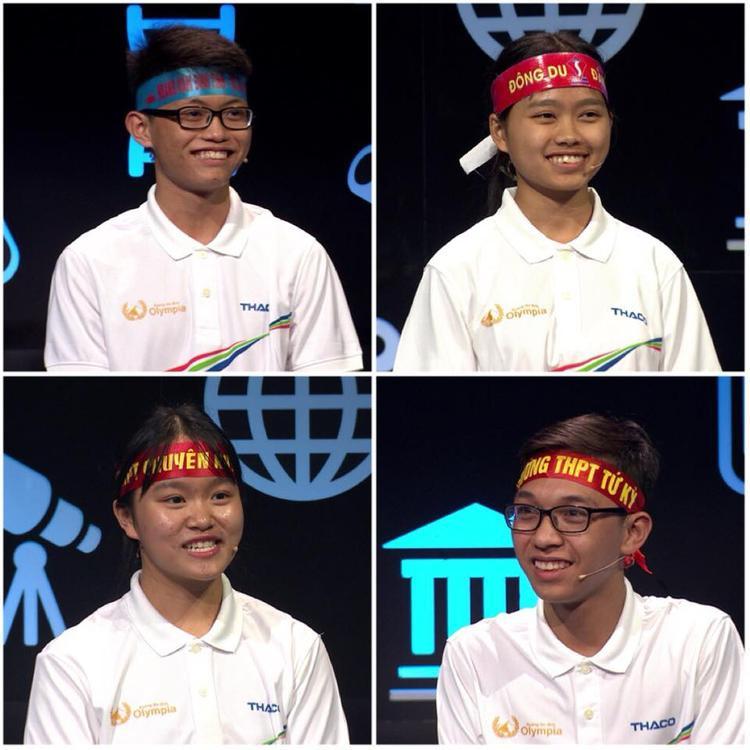 4 thí sinh của cuộc thi tuần này