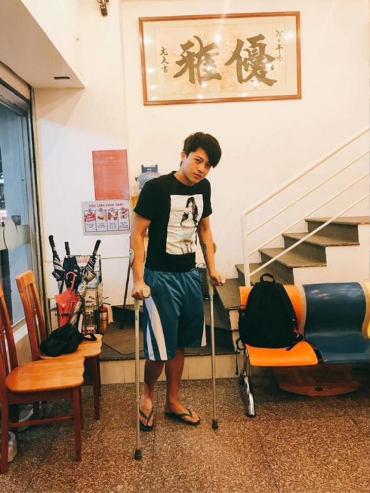 Hary Lu tiếp tục gặp tai nạn khiến fan lo lắng.