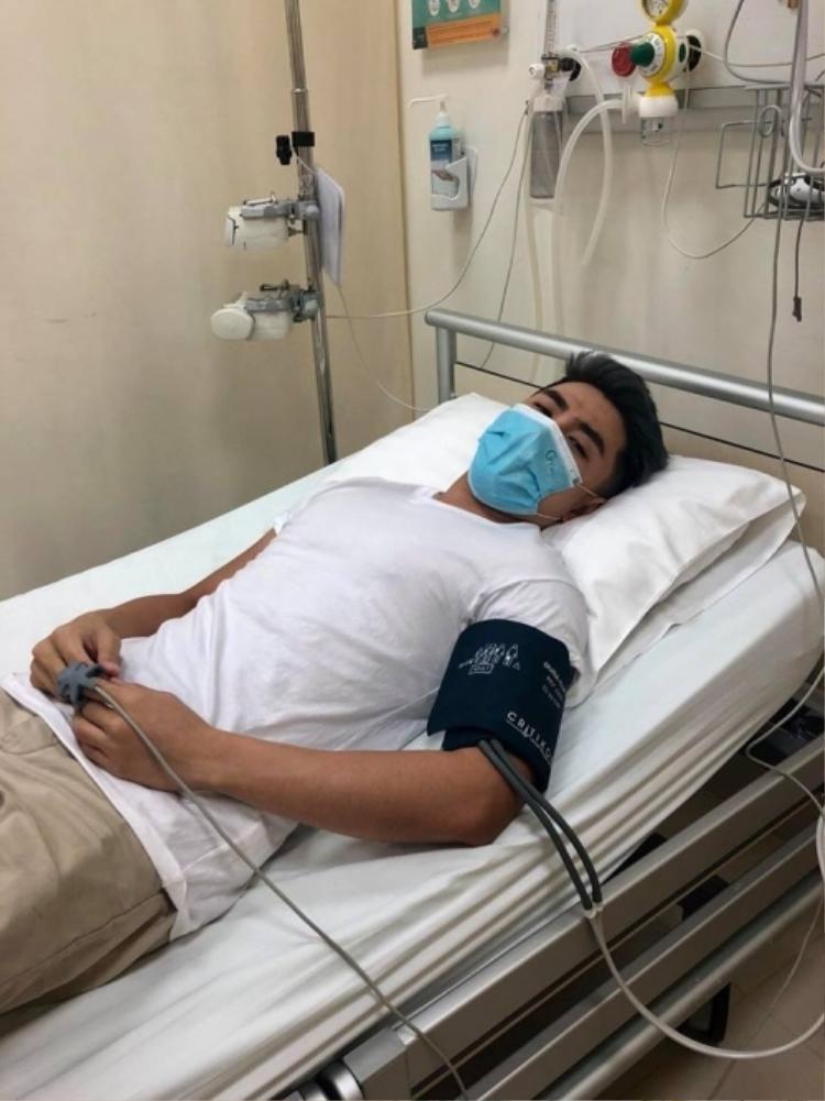 Will nhập viện cấp cứu vào ngày 6/4.
