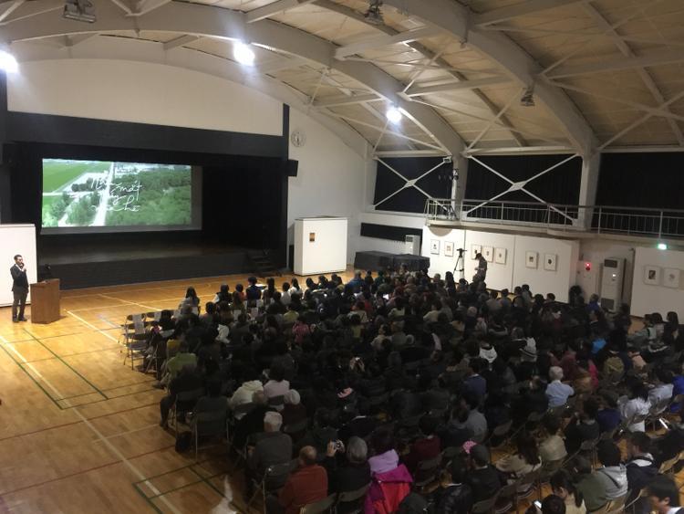 Bộ phim được công chiếu sớm tạiHokkaido.